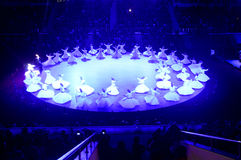 Whirling dervish Royalty Free Stock Photo