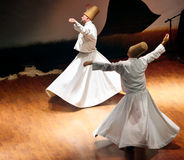 Whirling dervish (Semazen) Royalty Free Stock Photos