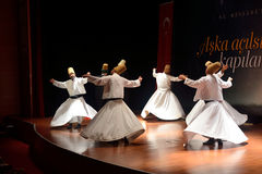 Whirling dervish (Semazen) Royalty Free Stock Photography