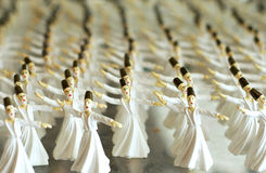 Whirling Dervish statues Stock Image