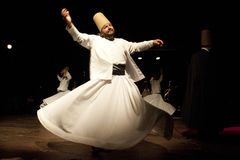 Whirling Dervishes Stock Photo