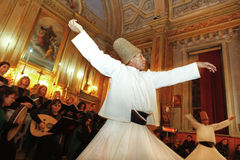Whirling dervishes Royalty Free Stock Image