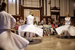 Whirling Dervishes Stock Image