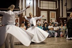 Whirling Dervishes Stock Images