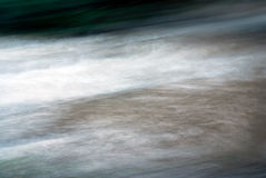Whirling water. River force after a massive rain Stock Photography