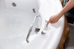 Whirlpool bath Stock Image