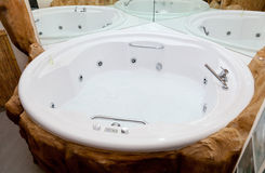 Whirlpool bath Royalty Free Stock Photography