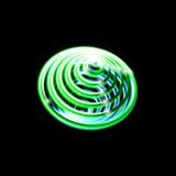 Whirlpool, calabozo, líneas radiales con la distorsión giratoria Espiral abstracto, forma del vórtice, elemento Imágenes de archivo libres de regalías