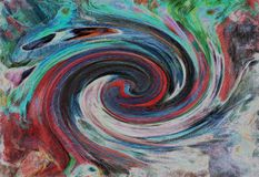 Whirlpool.Contras abstractiont , colorful background. stock photography