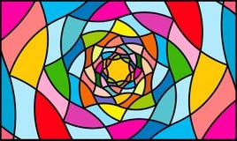 Whirlpool del fondo de las pinturas Imagen de archivo libre de regalías