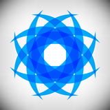Whirlpool design logo Royalty Free Stock Photos