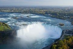 Whirlpool of the Niagara Falls in Ontario Stock Photo