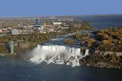 Whirlpool of the Niagara Falls in Ontario Royalty Free Stock Photo