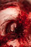 Whirlpool in red Royalty Free Stock Images