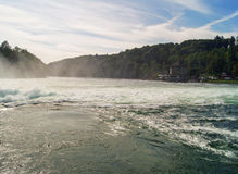 Whirlpools in the river Royalty Free Stock Images