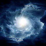 Whirlwind in the Clouds Royalty Free Stock Photos