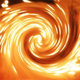 Whirlwind of the life. Life and evolution, bright and hot whirlwind Stock Photo