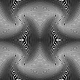 Whirly lines vector background. Royalty Free Stock Images