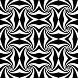 Whirly nahtloses Muster. stock abbildung