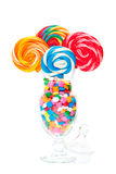 Whirly Pop Bouquet Stock Photography