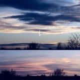 Whish is een mooie zonsondergang royalty-vrije stock fotografie