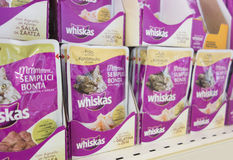 Whiskas cat's food Royalty Free Stock Photo