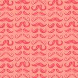 Whisker facial mustache vector black illustration retro face hair style Royalty Free Stock Photo