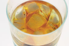Whiskey. On the rocks stock photo