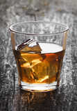 Shot of whiskey Stock Image