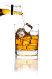 Whiskey And Ice Stock Photo