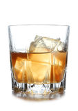 Whiskey And Ice Stock Photography
