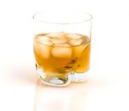 Whiskey avec de la glace. image libre de droits