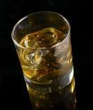 Whiskey avec de la glace Image libre de droits
