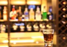 Whiskey at bar Royalty Free Stock Photos