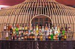Whiskey bar at Lobby of the SENTIDO Graceland Khao Lak Resort & Spa Stock Images