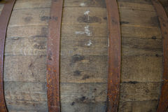 Whiskey Barrel Detail Texture Stock Photography
