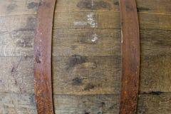 Whiskey Barrel Detail Texture Royalty Free Stock Photo