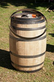 Whiskey barrel in the making Royalty Free Stock Photography