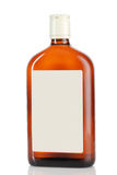 Whiskey bottle Stock Images