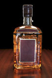 Whiskey bottle Stock Image