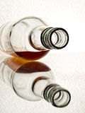 Whiskey Bottle Abstract Royalty Free Stock Photo
