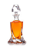Whiskey bottles Stock Photos