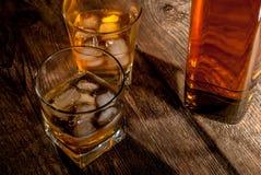 Whiskey or bourbon Stock Photo