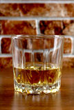 Whiskey on brick Stock Images