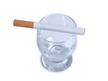 Whiskey and cigarettes Royalty Free Stock Photos