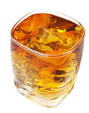 Whiskey with Clipping Path Stock Images