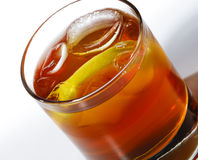 Whiskey Cocktail Royalty Free Stock Photography