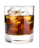 Whiskey cola cocktail Stock Photos