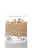 Whiskey cream glass Royalty Free Stock Photos