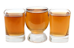 Whiskey in cup Royalty Free Stock Photo